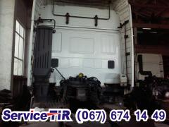 Cab to Iveco Stralish assembled