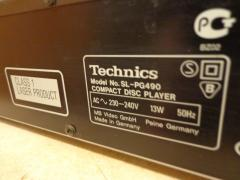 CD-player Technics SL-PG490