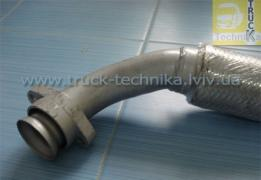 Exhaust pipe Mercedes Aktros