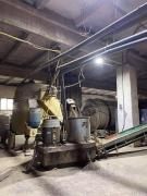 Factory for the production of briquettes