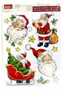 M19-220012, Christmas stickers on the window, universal, color-white