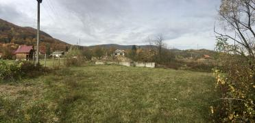 Plot with beautiful view to the Carpathians