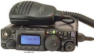 Radio, stationary, portable Amateur radio band