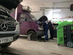 Tuning Engine One hundred for maintenance of the vans, Mercedes, Volkswagen